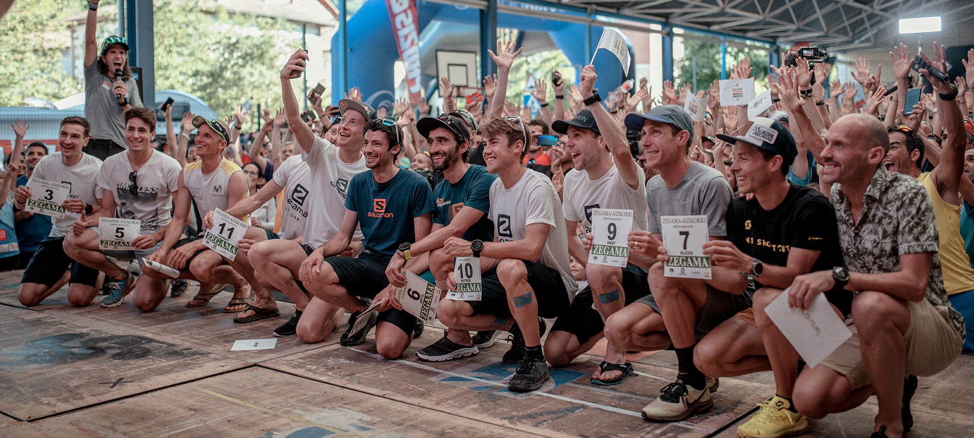 List of participants for the Zegama-Aizkorri 2018